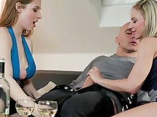 Antonia Sainz And Nathaly Cherie In Wild Scenes Of Threesome Porno