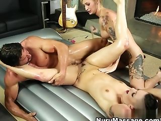 Crazy Porn Industry Stars Kleio Valentien, Tommy Gunn, Rachael Madori In Best 3 Ways, Big Tits Adult Clip