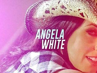 Angela Milky In Midnight Cowgirl