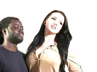 Huge-boobed German Cockslut Loves Big Black Cock