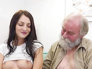 Old Man Smashes Teenager's Cunt In Ways She Never Expected