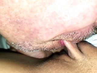 Close Up Bean Sucking - Loving My Shaven Labia - Part Two