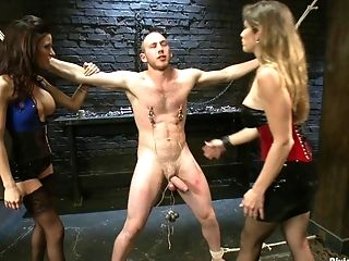Legal Year Old Boy Toy Chewed Up And Drool Out By Two Hot Fem Dom Nymph Bitches