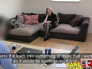 Fakeagentuk Sexy Kink Nymph With Good Tits Orgasms
