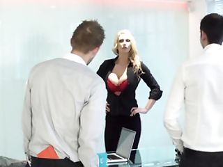 Lady In Charge Requests A Gigantic Dick For Her Hot Cunt