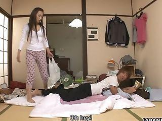 Bald Puss Of Ultra-kinky Wifey Koi Miyamura Gets Poked From Behind Damn Well