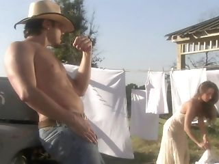Getting Fucked Outdoors Pleases Lindsay Meadows More Than Anything