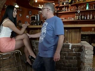 Whorish Youthfull Czech Chick Anna Is Fucked By Old Dude In Public