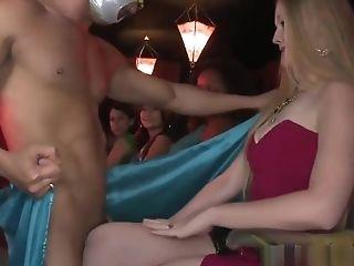 Beautiful Fledgling Wifey Inhaling Strippers Bone