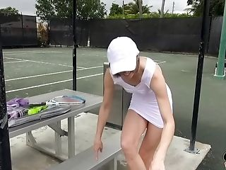 Tennis Player Ella Forest Gets Her Vagina Plowed After Her Match