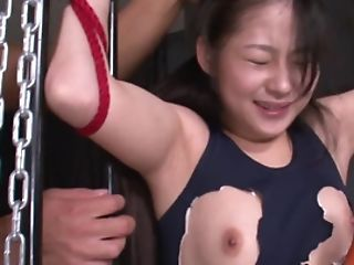 Guys Use Veggies To Open Up Japanese Chick's Vagina Before Oral Job