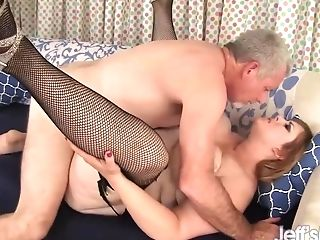 Breathtaking Blonde Bbw Lila Lovely Has Her Obese Cunt Spread With Hard Peckers