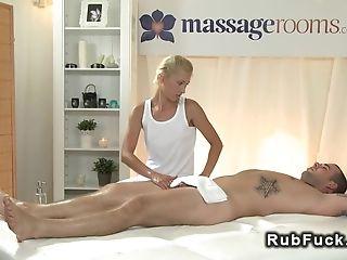 Naked Massuse Wanks Manhood After Fuck
