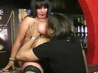 Fat Orbs Barmaid Takes It From Behind