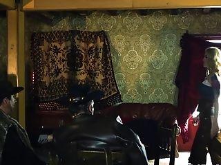 Misha Cross In Rawhide Scene 1