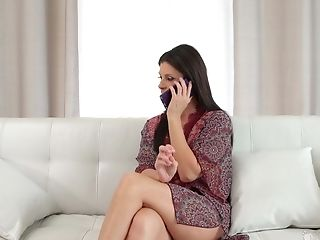 India Summer Adores To Eat Every Inch Of Her Gf's Moist Gash