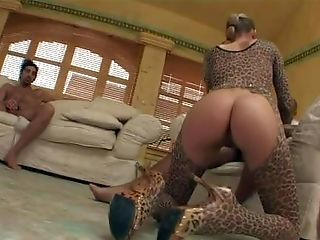 Arousing Brown-haired Cockslut Priscilla With Dark Make Up And Smoking