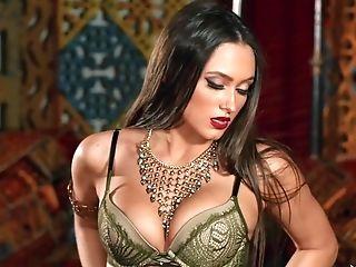 Amazing Superstar Sapphira In Incredible Underwear, Solo Dame Intercourse Clip